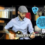 Lick 349/365 - Fancy Rockabilly Rhythm Lick in A | 365 Guitar Licks Project