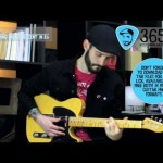 Lick 356/365 - Classic Ending Chord Descent in Eb | 365 Guitar Licks Project