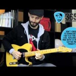 Lick 364/365 - Fast Blues Run in Db | 365 Guitar Licks Project