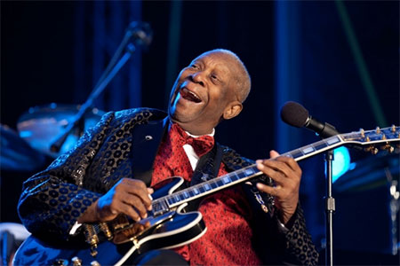 B.B. King. (Photo by Pete Souza, whitehouse.org)
